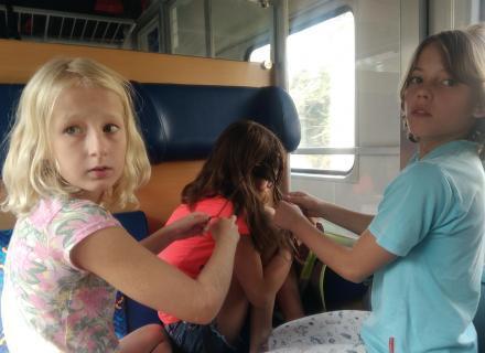 Nuda ve vlaku 1