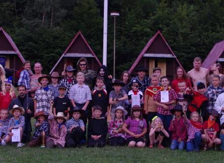 Judo tábor 2014 - všichni účastníci