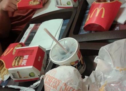 Zdravá výživa sportovců od McDonalda   :-)
